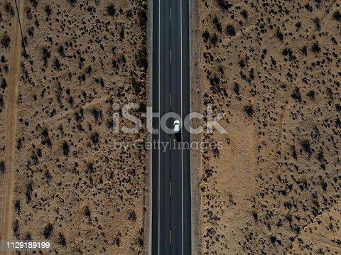 Road Side at Desert Death Valley