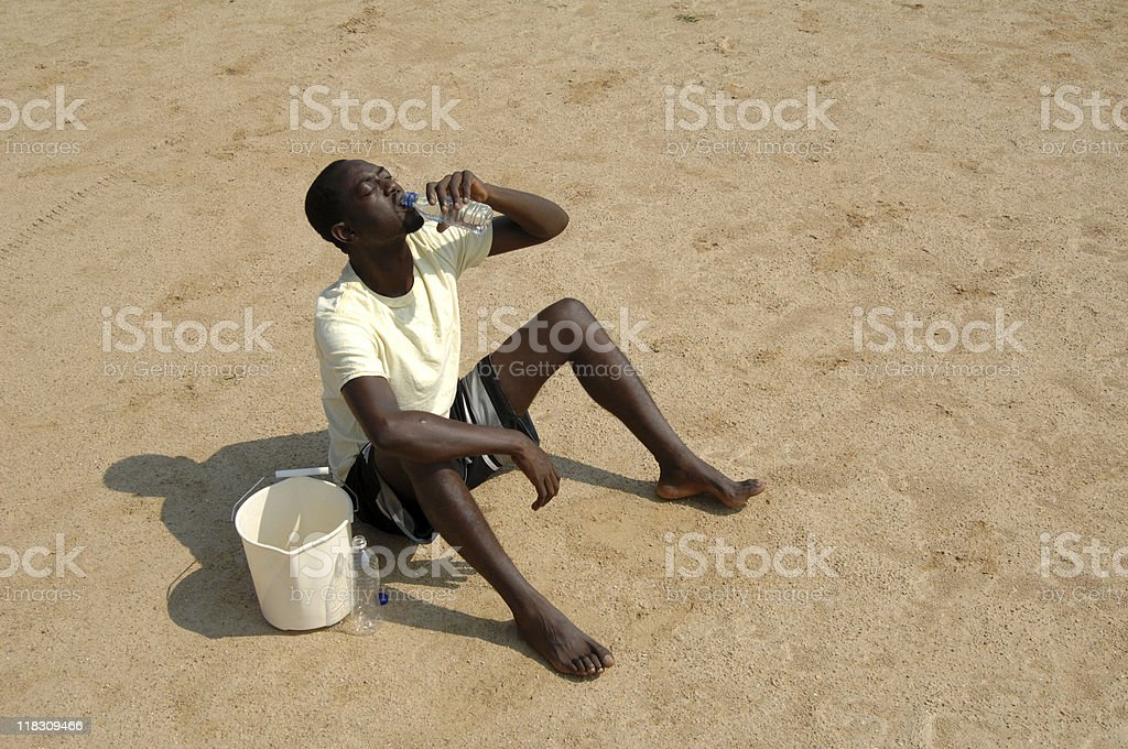desert drink stock photo