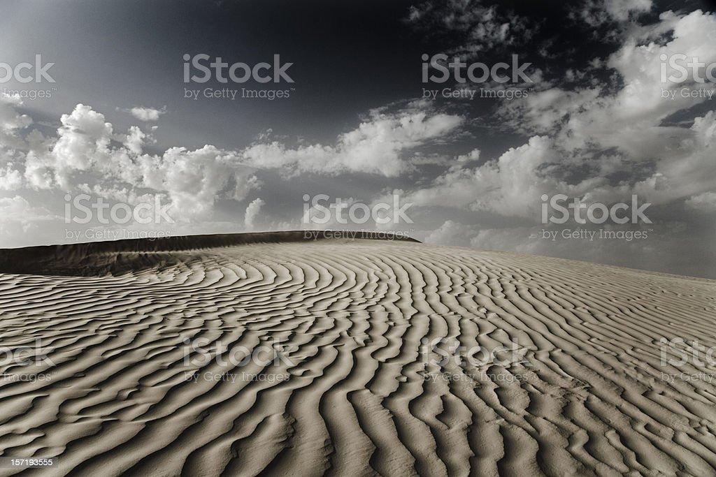 Desert Dune Sahara royalty-free stock photo
