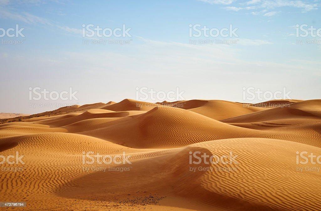 Dune del deserto - Foto stock royalty-free di 2015