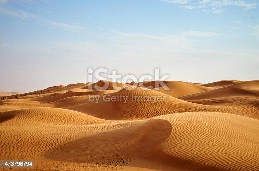 istock Desert dunes 473796794