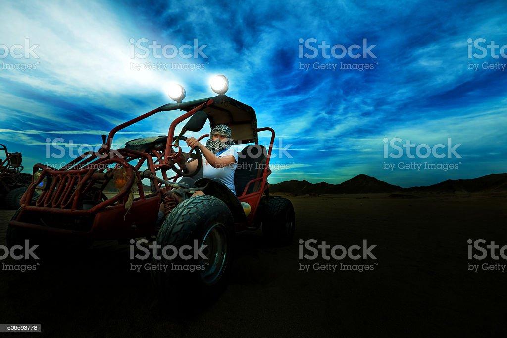 desert exploration stock photo