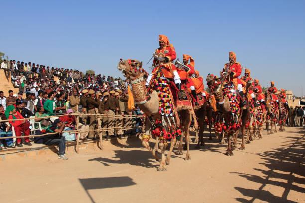 Desert festival of Jaisalmer stock photo