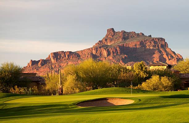 Desert Golf Course in Arizona