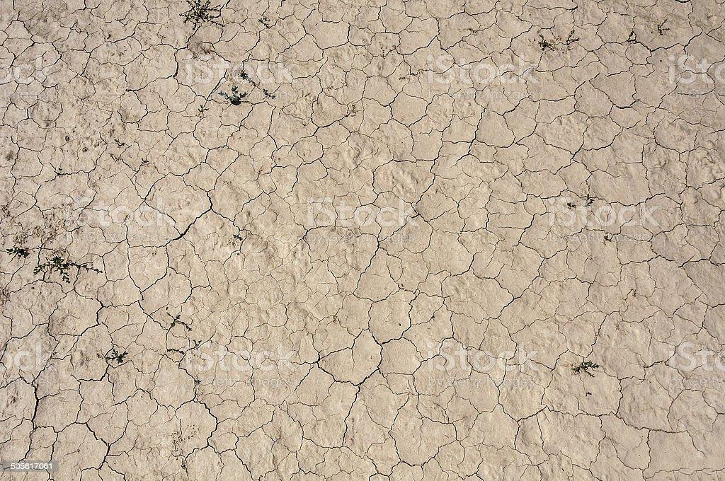 desert ground cracks royalty-free stock photo