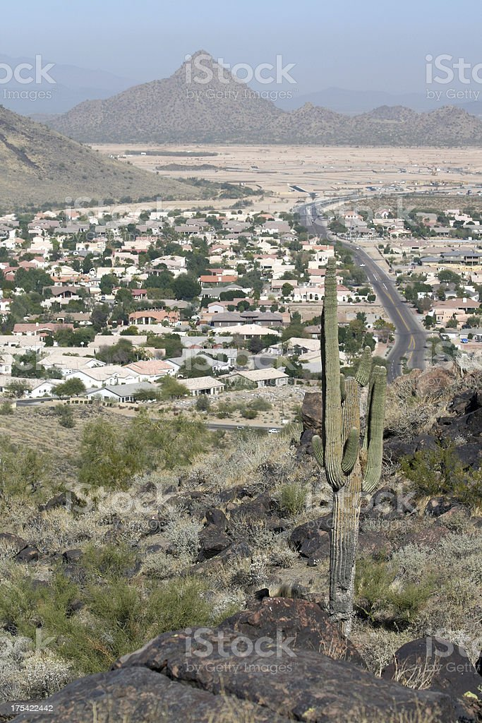 Desert Housing royalty-free stock photo