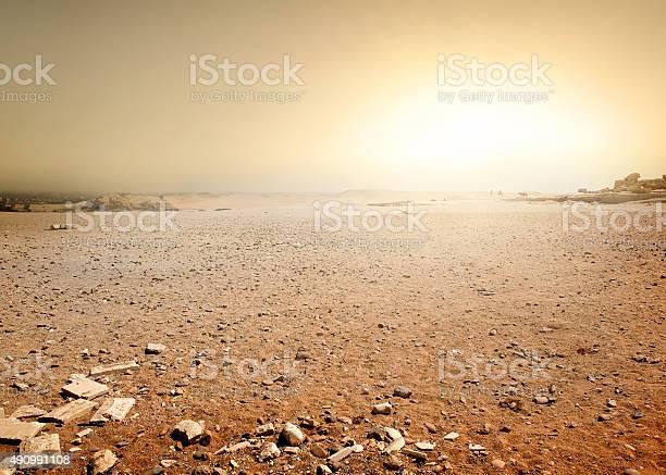 Desert In Egypt Stock Photo - Download Image Now