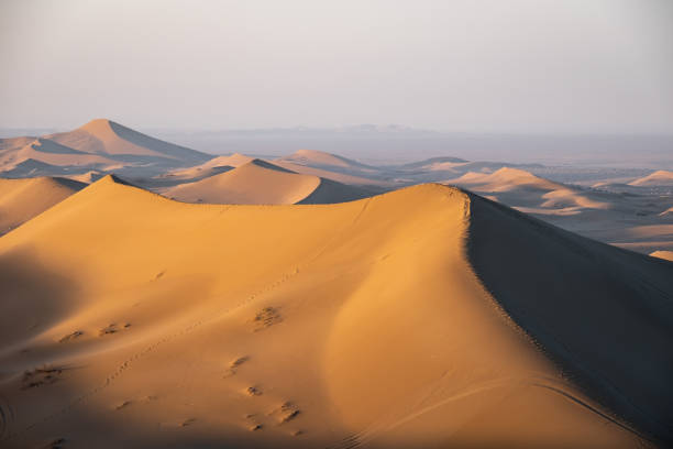 Desert in Iran stock photo