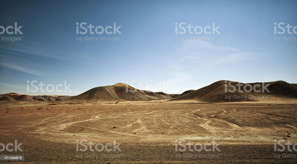 Desert in USA royalty-free stock photo