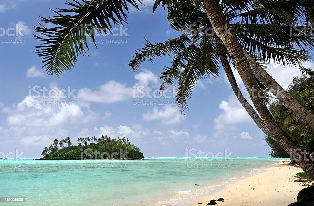Desert Island royalty-free stock photo