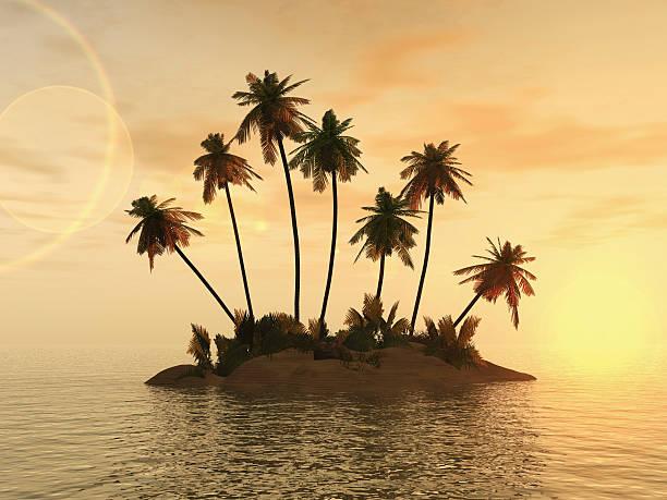 desert island - desert island stock photos and pictures