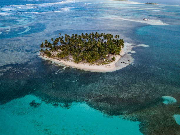 desert islands in paradise - desert island stock photos and pictures