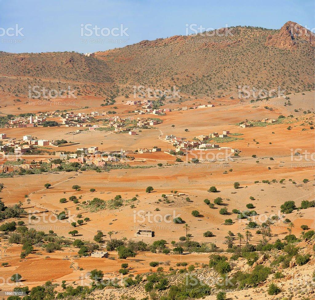 Wüste land – Foto