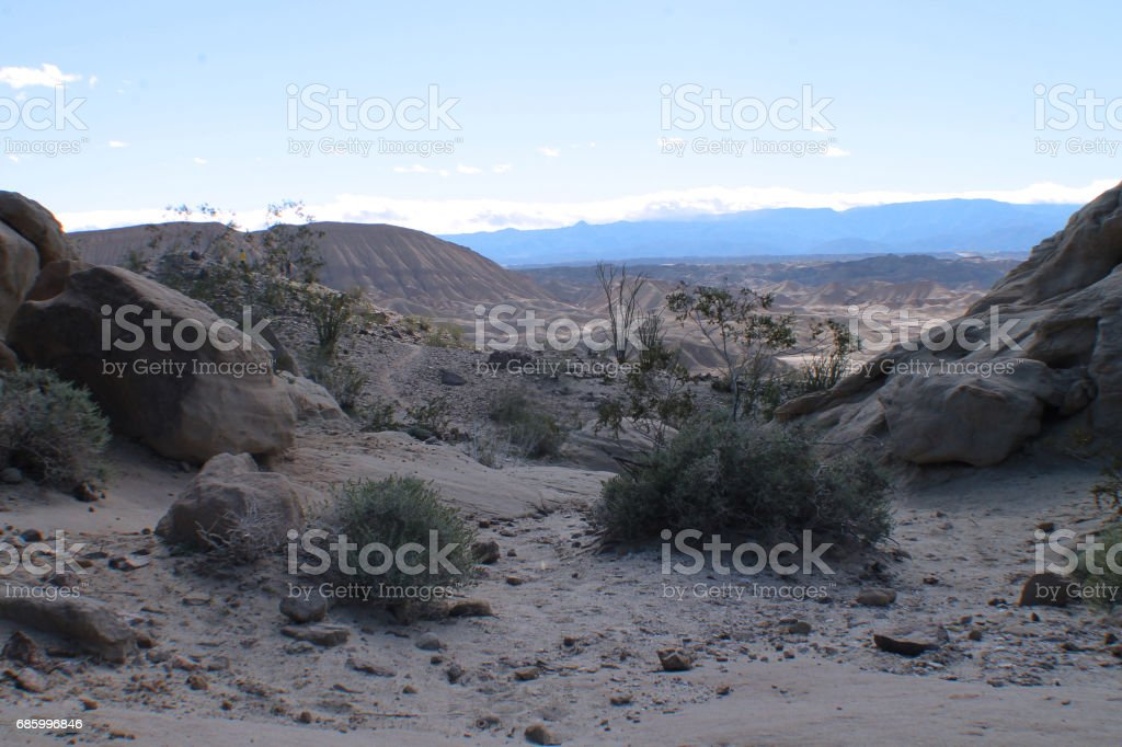 Desert Landscape 2 stock photo