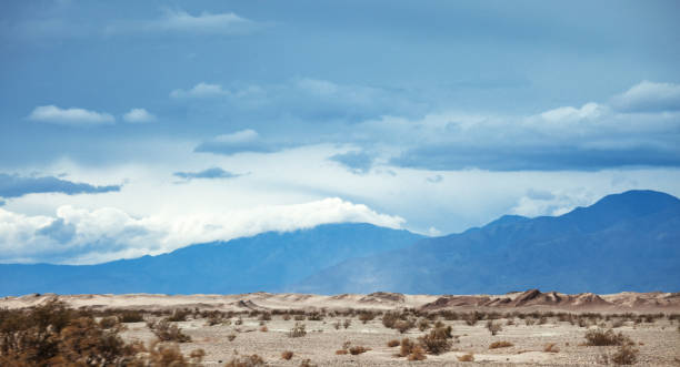 Desert landscape, California stock photo
