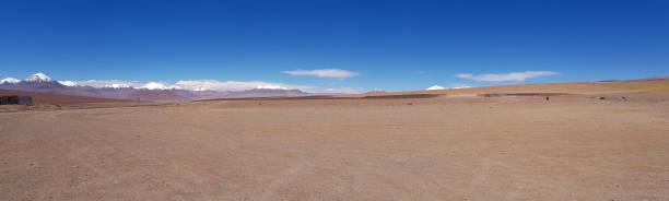 Wüstenlandschaft der Andenebene – Foto