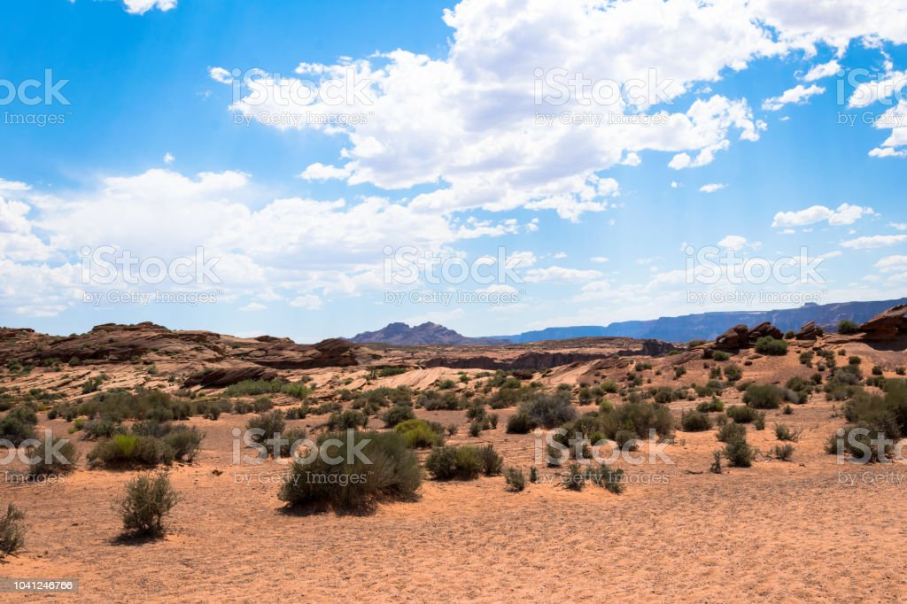 Desert Moab, Utah, Southwest of the USA. Nature of the Arches...