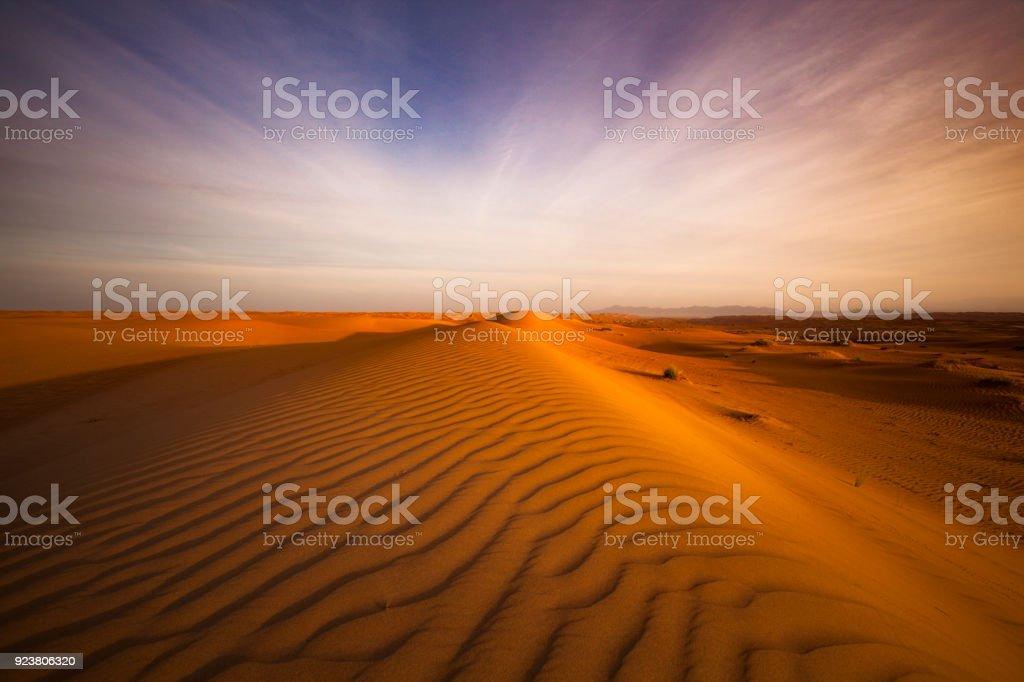 Wüste Landschaft Oman – Foto