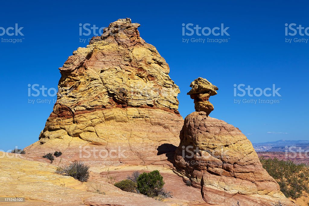 Desert landscape royalty-free stock photo