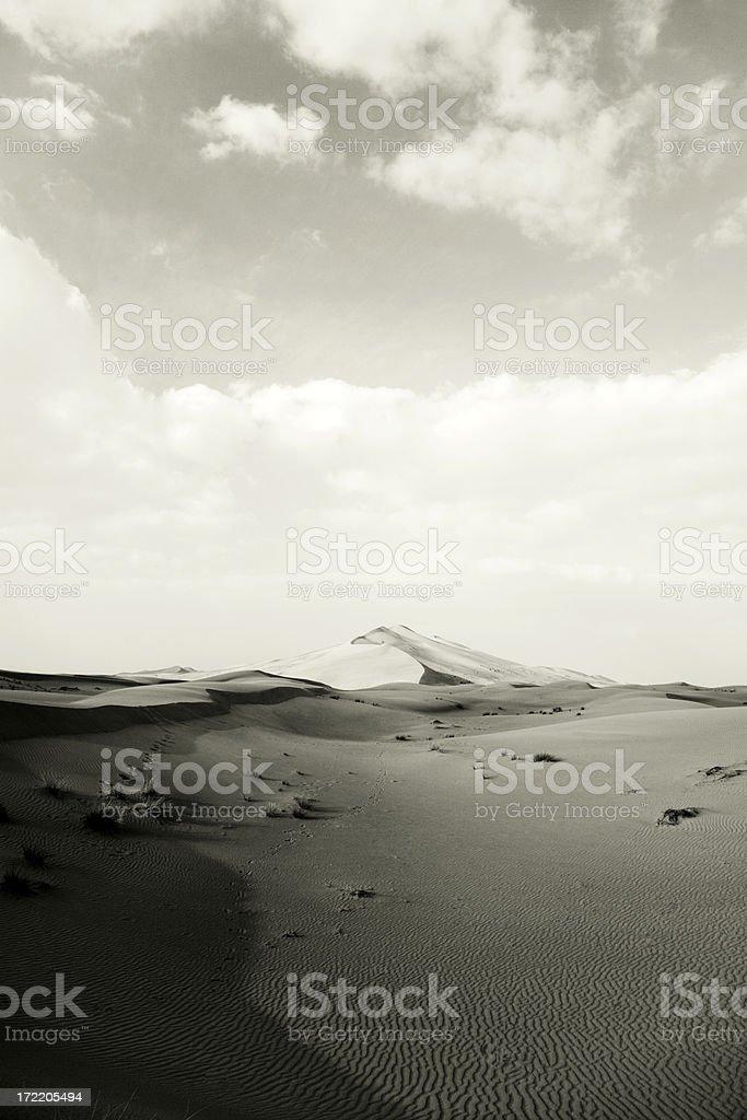 desert landscape textures royalty-free stock photo