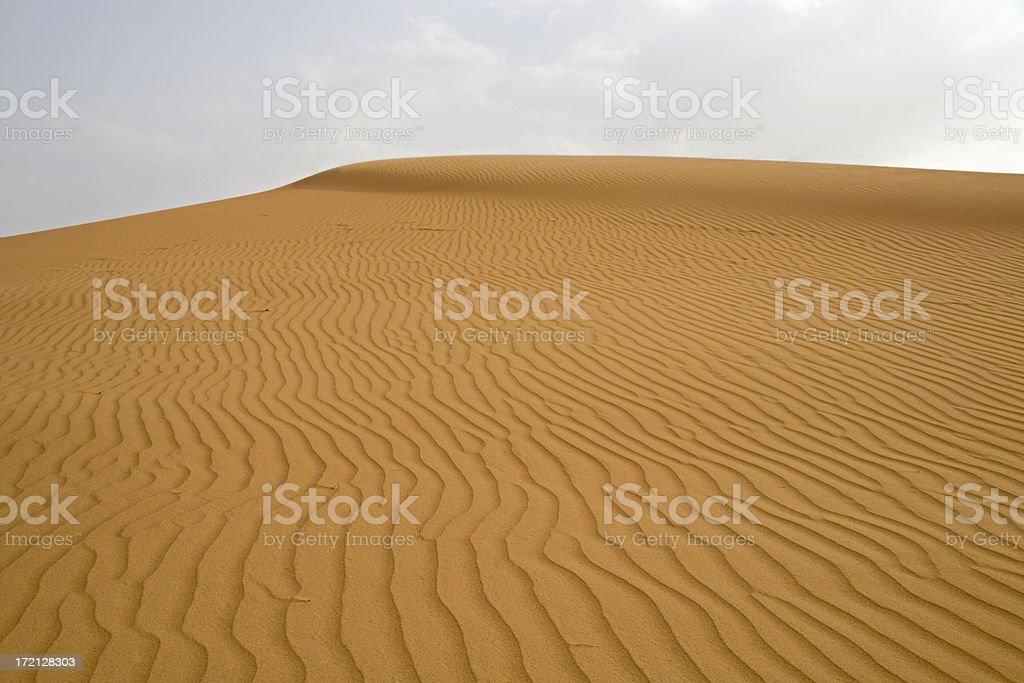 desert landscape united arab emirates royalty-free stock photo