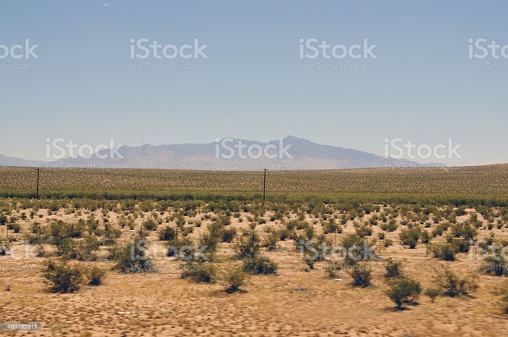 Desert Landscapes royalty-free stock photo