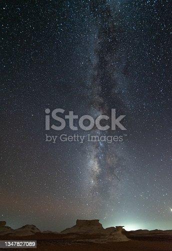 istock Desert milky Way 1347827089