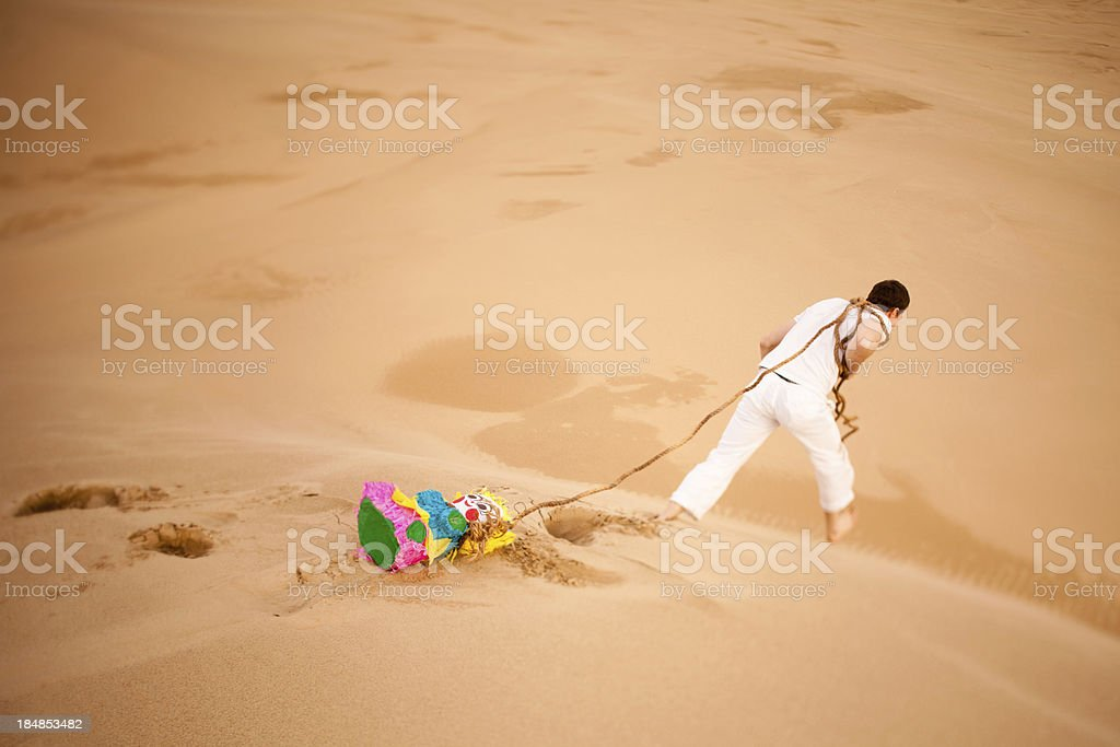 Desert Mirage royalty-free stock photo
