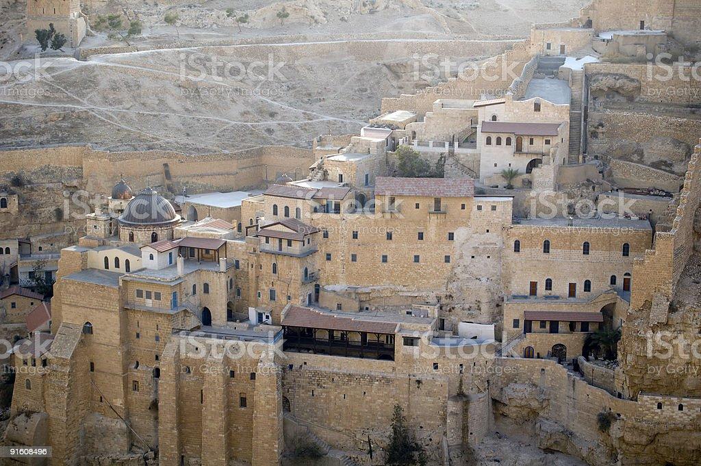 Desert Monastery stock photo