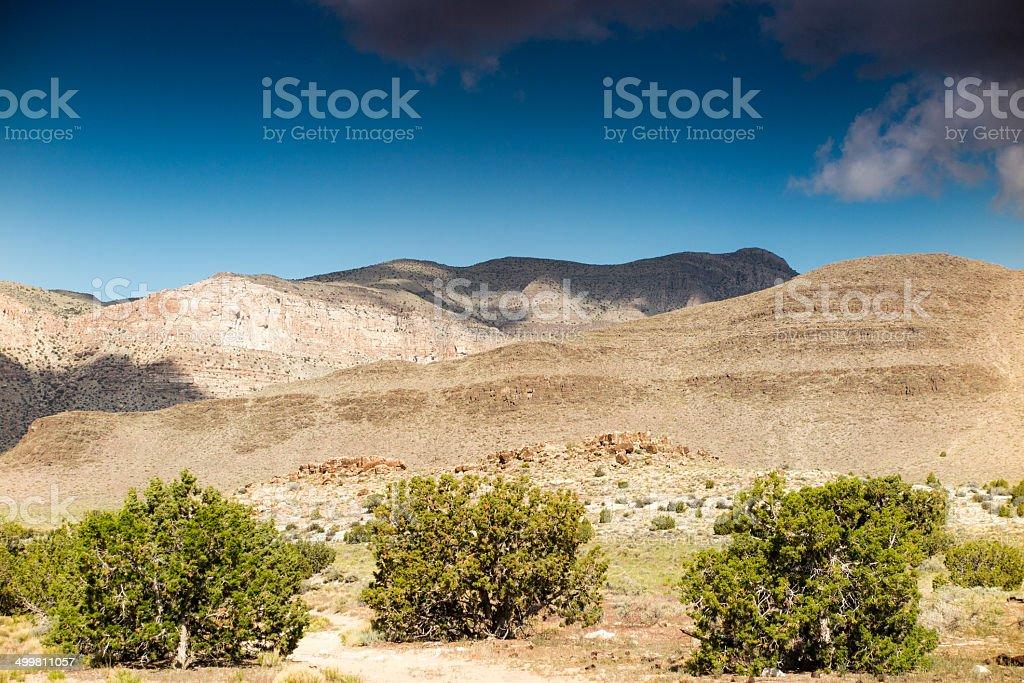 beautiful nature scenery in western utah. horizontal wide angle...