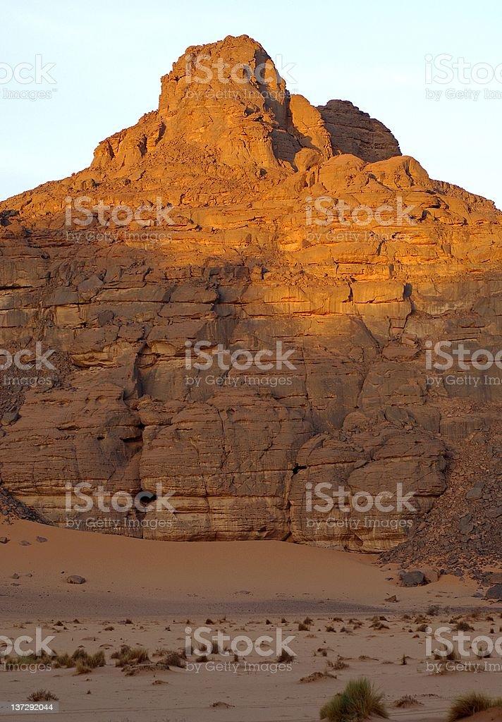 Desert mountain royalty-free stock photo
