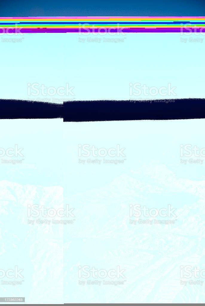 Desert Mountain Range royalty-free stock photo