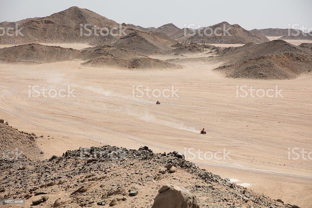 Desert nature in egypt travel safari ATB stock photo
