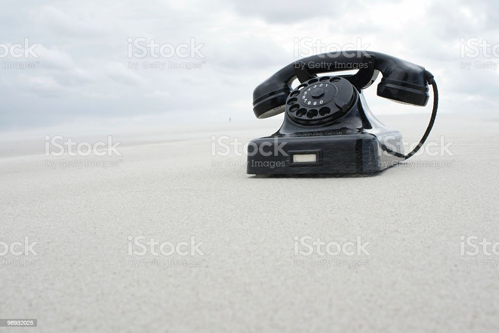 Desert Phone royalty-free stock photo