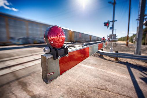 Desert Railroad Crossing