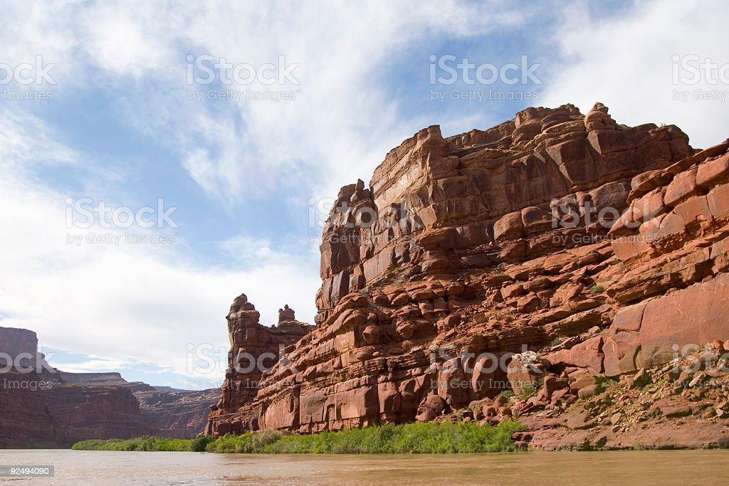 Desert Red Rocks royalty-free stock photo
