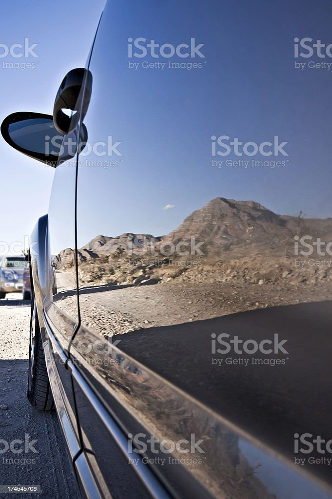 Desert Reflections royalty-free stock photo