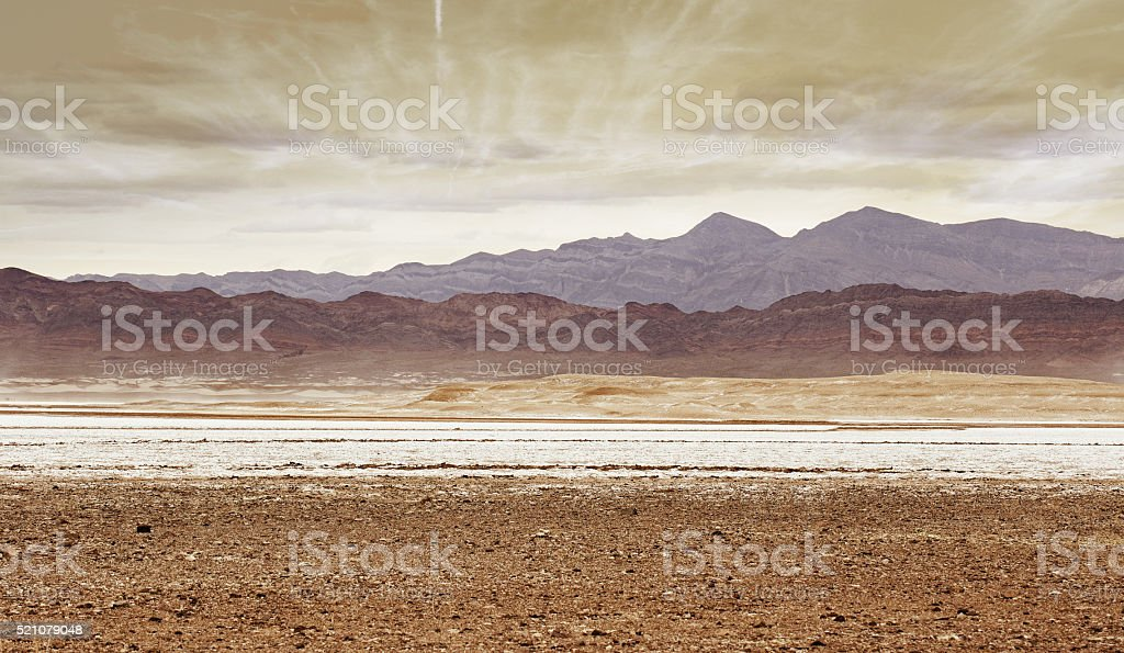 desert region stock photo