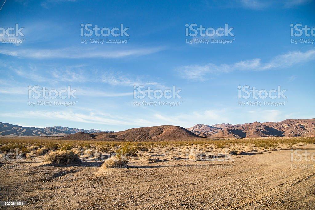 Desert region stock photo