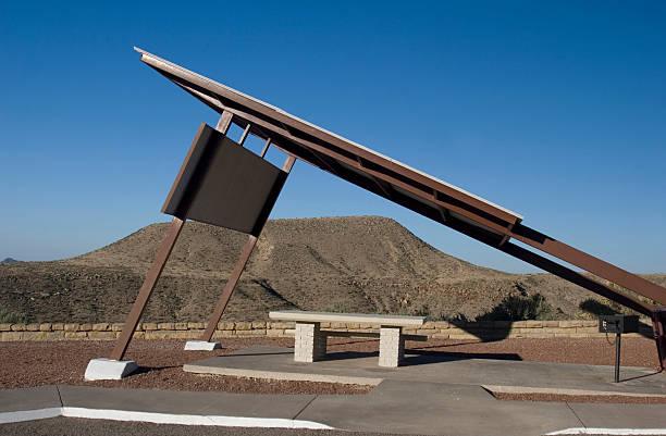 Desert Rest Stop stock photo