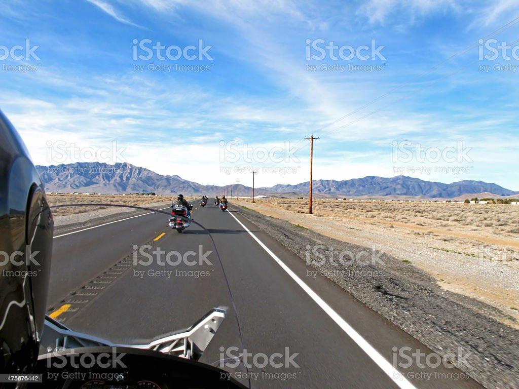 Desert Ride stock photo