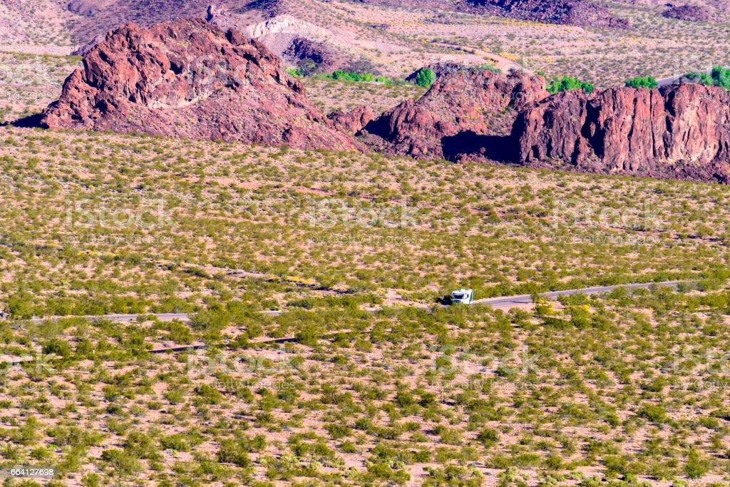 Desert Road foto stock royalty-free