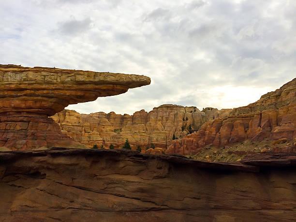 Desert Rock Formations stock photo