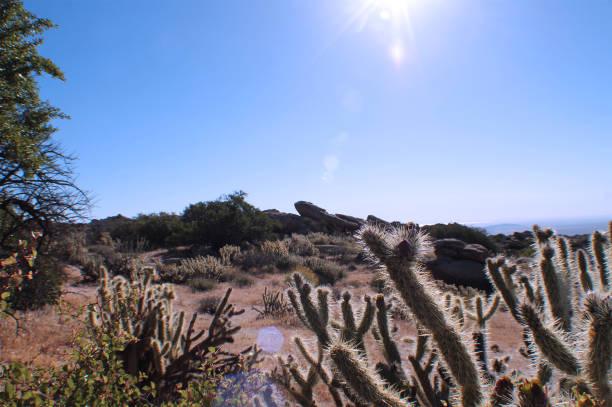 Desert Rock Landscape stock photo