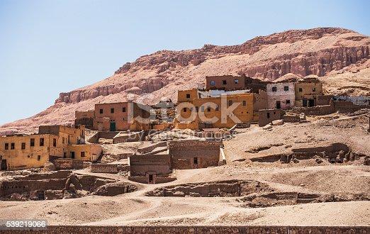 istock Desert rock town 539219066
