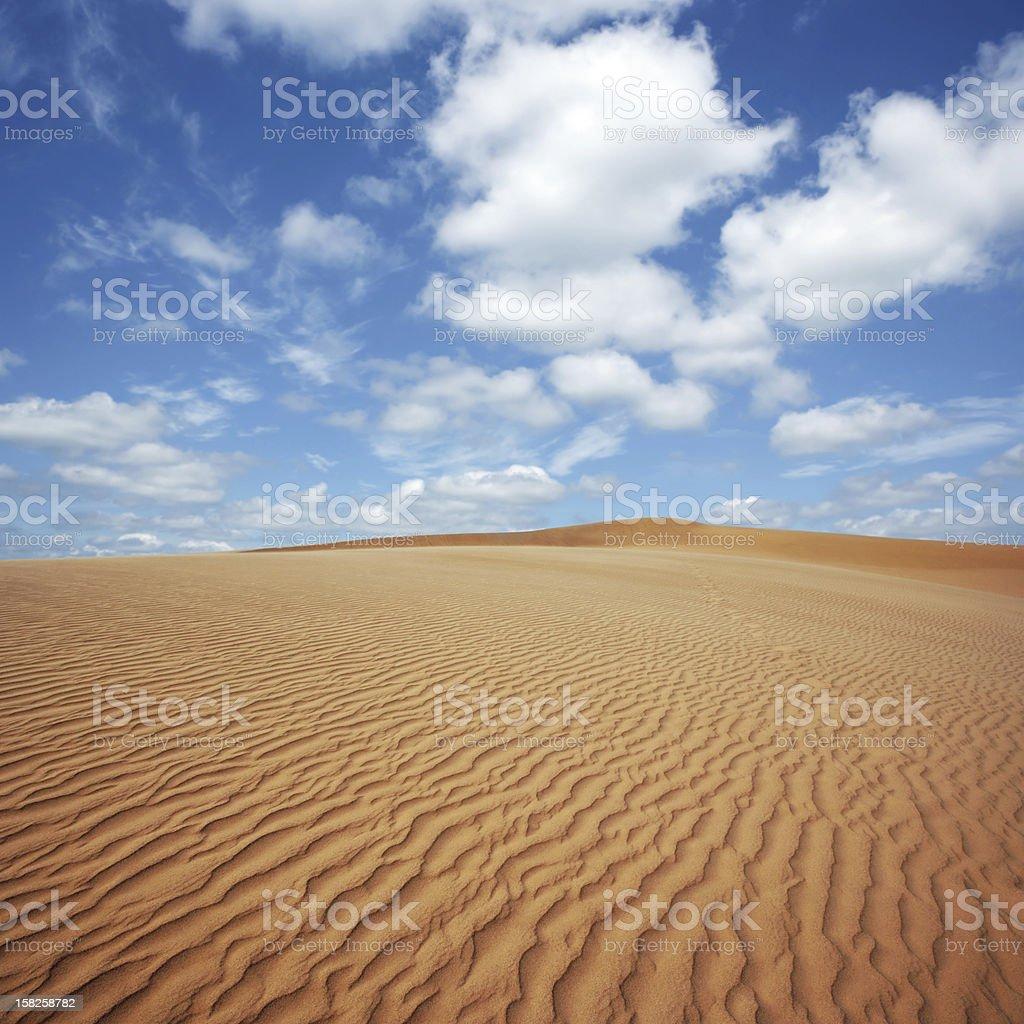XL desert sand dunes royalty-free stock photo