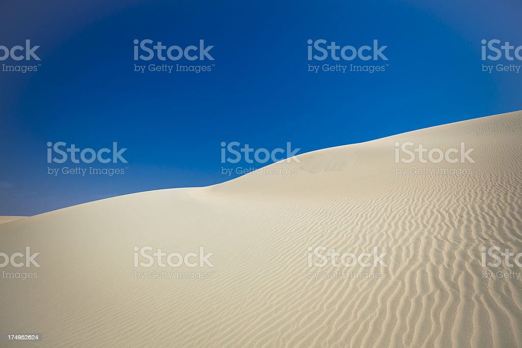 desert sand dunes royalty-free stock photo