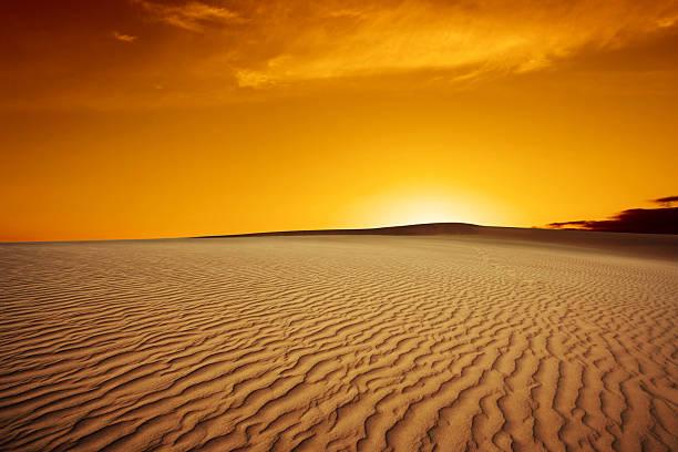 XL desert sand sunset – Foto