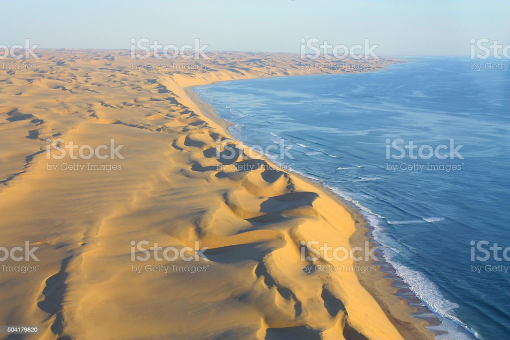 Desert Sanddunes Coastline stock photo