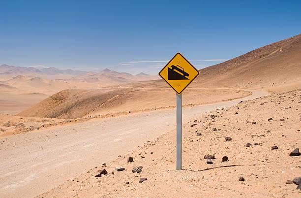 Desierto de señal - foto de stock
